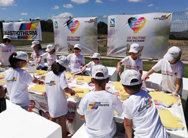 Austrotherm Mutlu çocuklar Etkinliği Tamamlandı Austrotherm